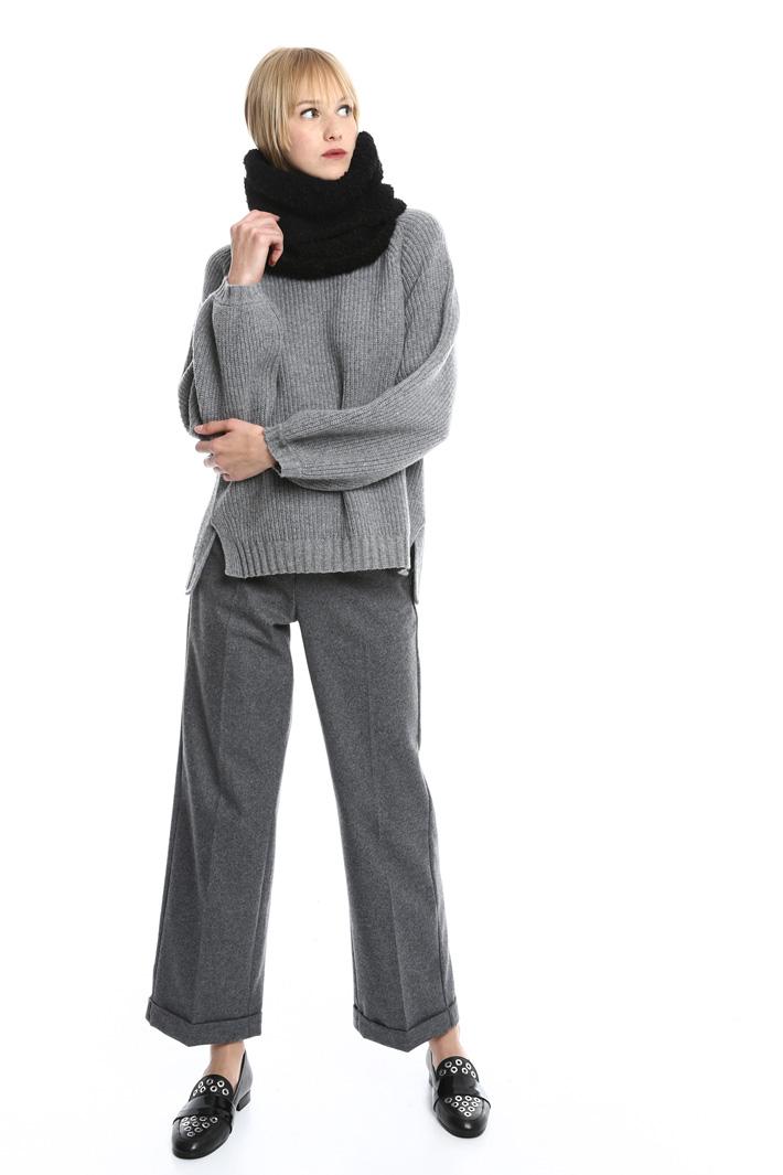 Collo in lana bouclé Fashion Market