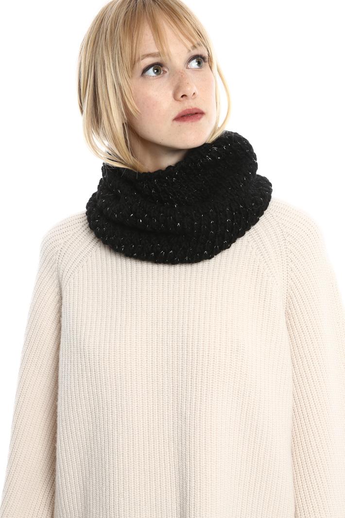 Collo in lana lurex Fashion Market