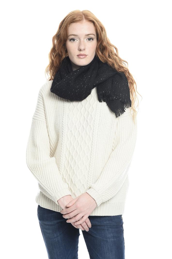Sciarpa tressé misto lana Fashion Market