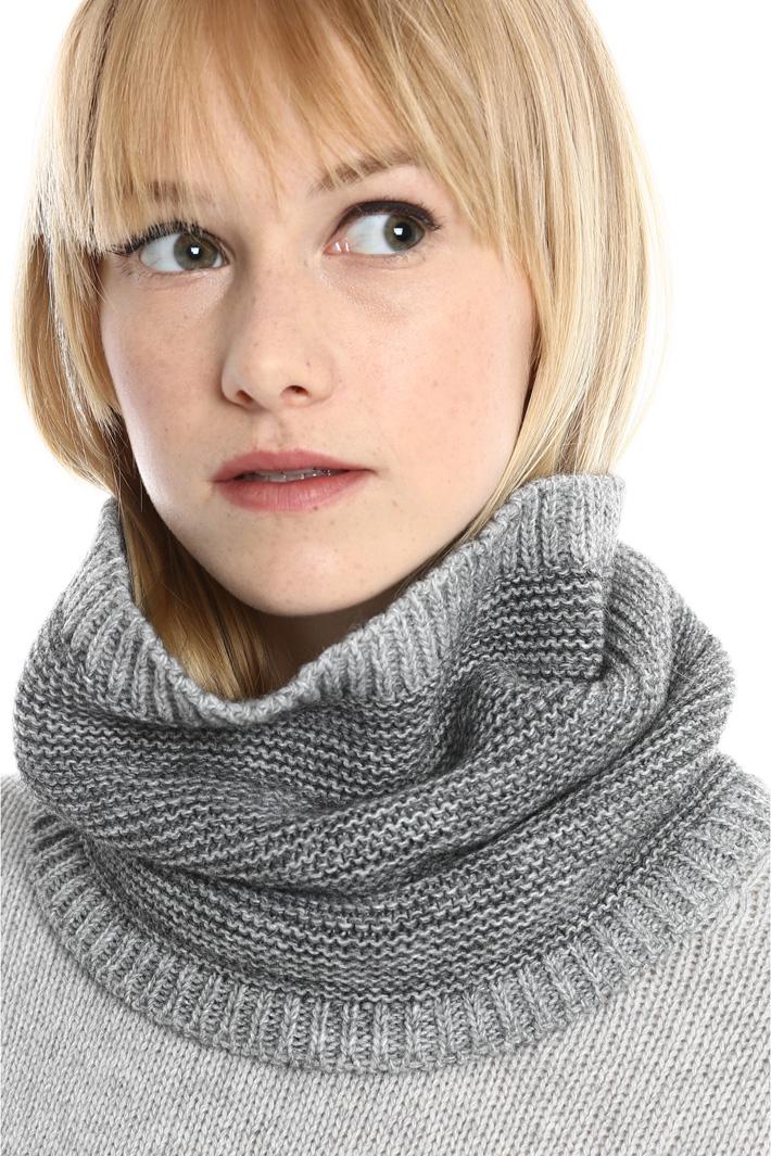 Collo in lana punto links Fashion Market