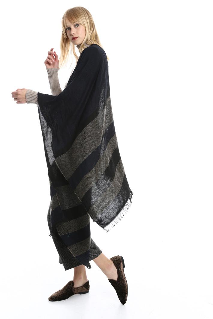 Sciarpa rigata in lana Fashion Market