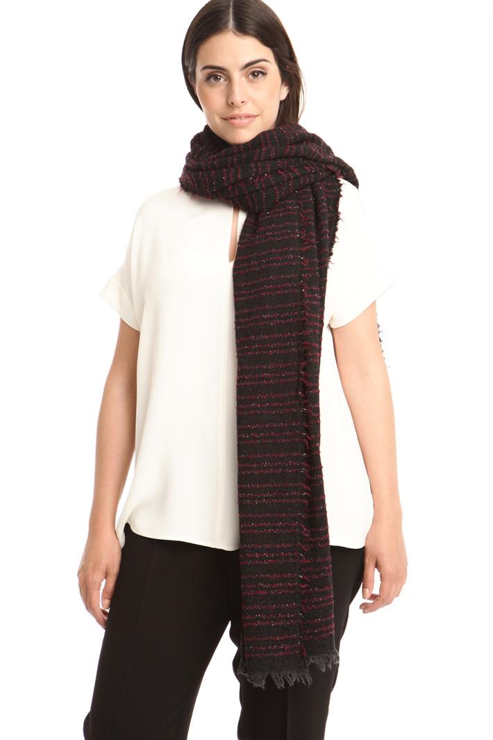 Sciarpa in lana bouclé Fashion Market