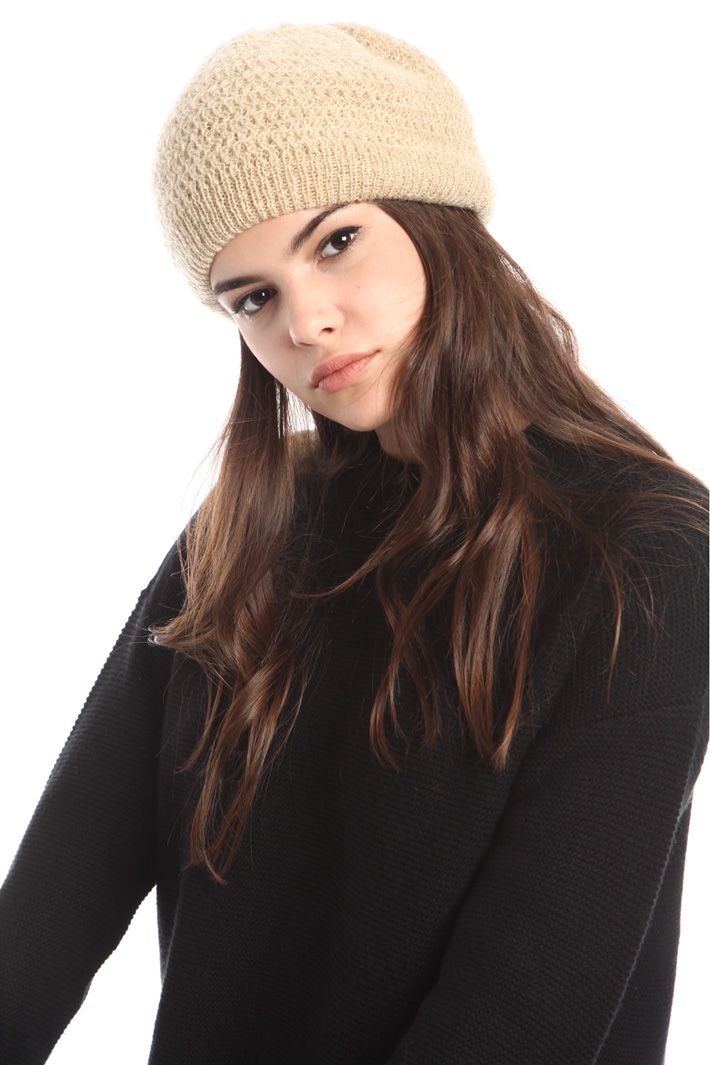 Cappello beret in mohair Fashion Market