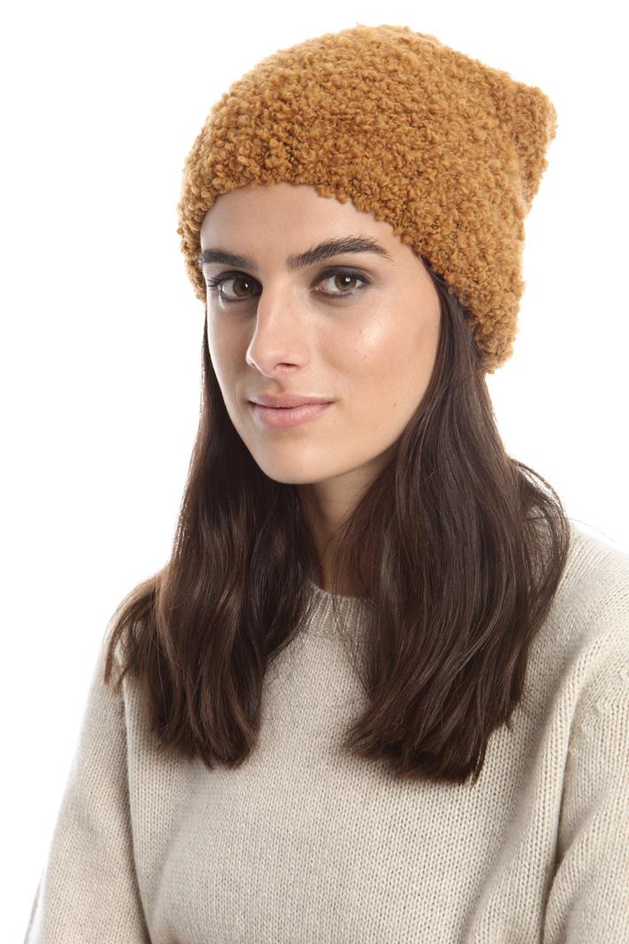 Berretto in lana bouclé Fashion Market