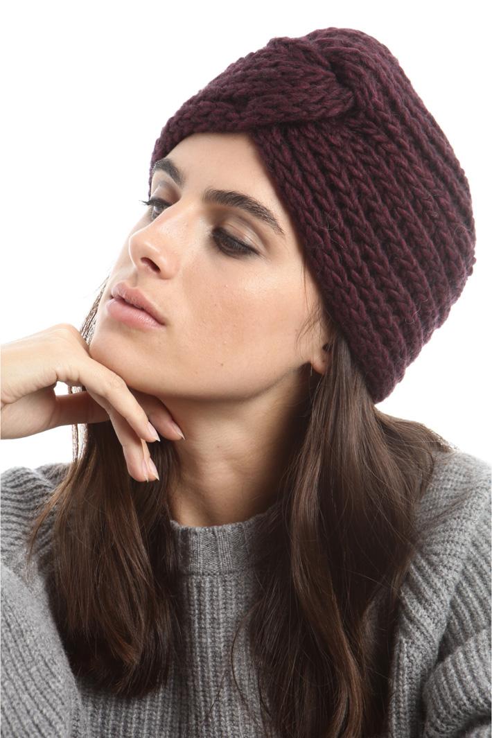 Cuffia con nodo a decoro Fashion Market
