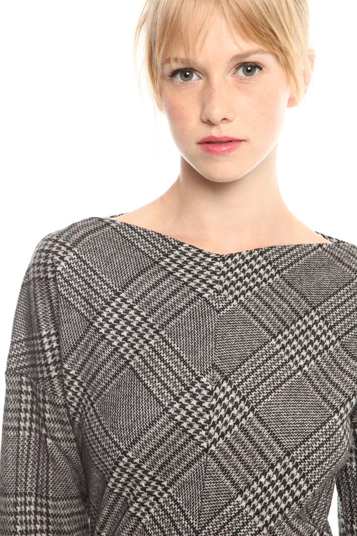 Tubino in viscosa tinto filo Fashion Market