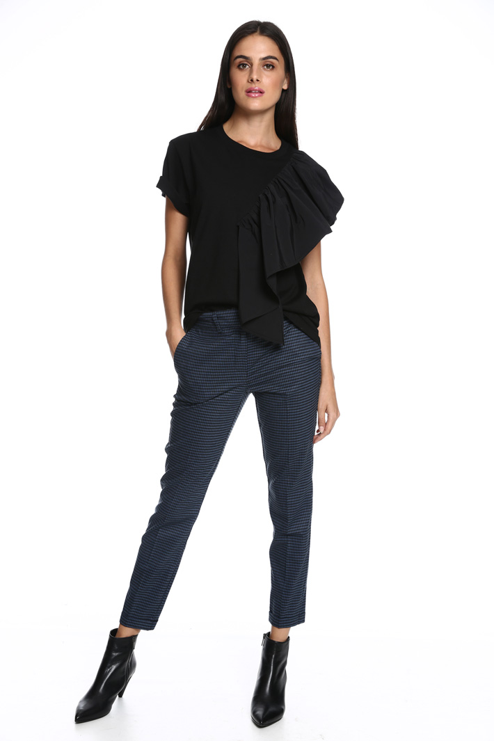 T-shirt con maxi volant Fashion Market