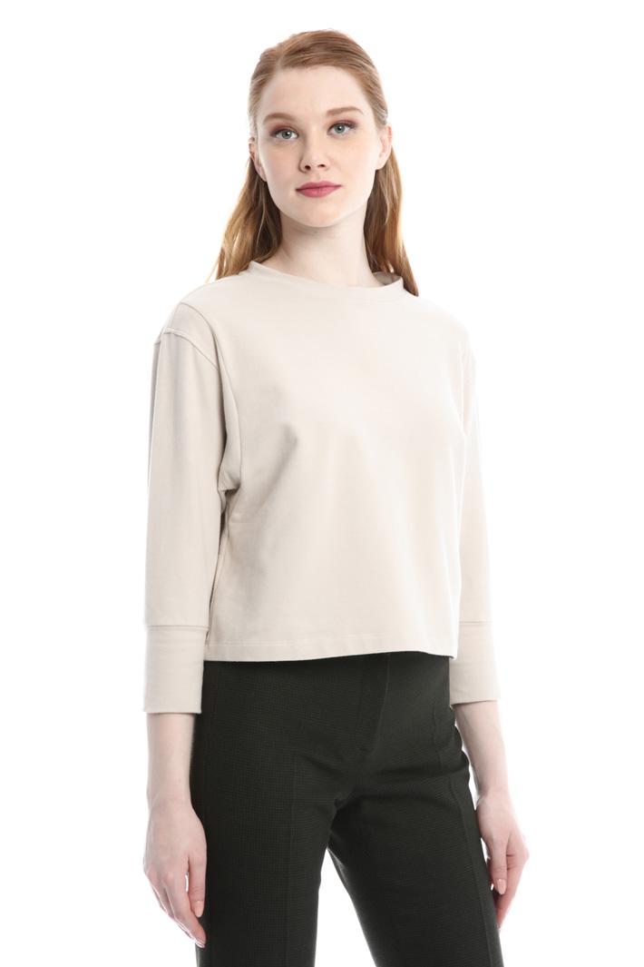T-shirt boxy in cotone Fashion Market
