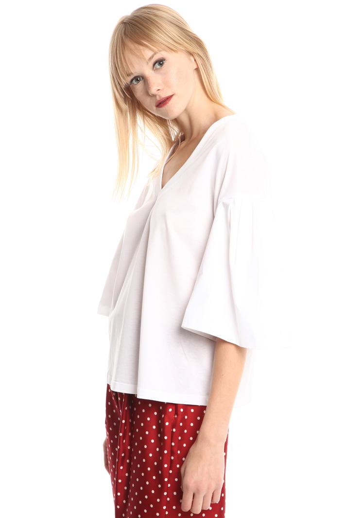 Top con maniche a corolla Fashion Market