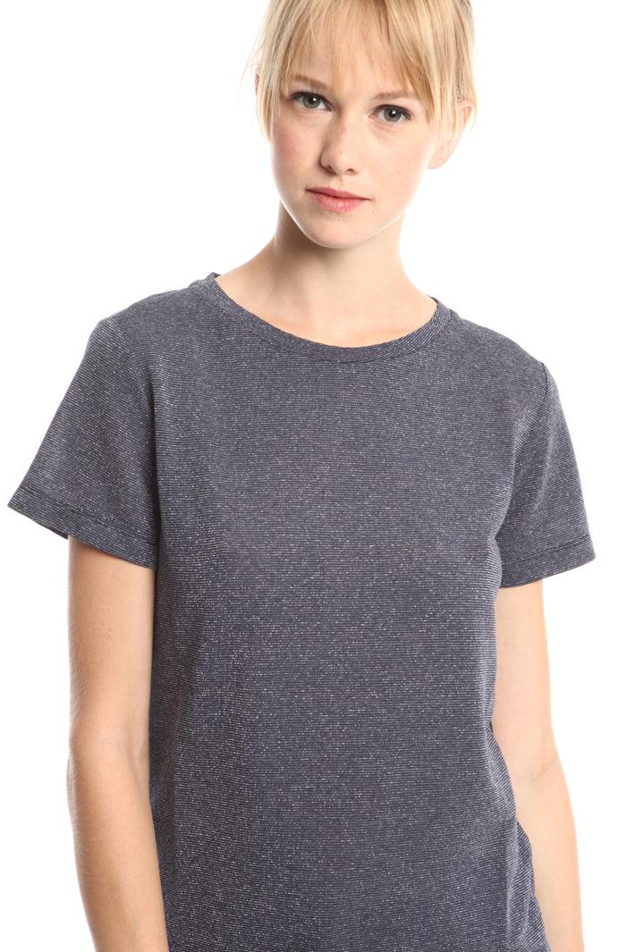 T-shirt in viscosa lurex Fashion Market