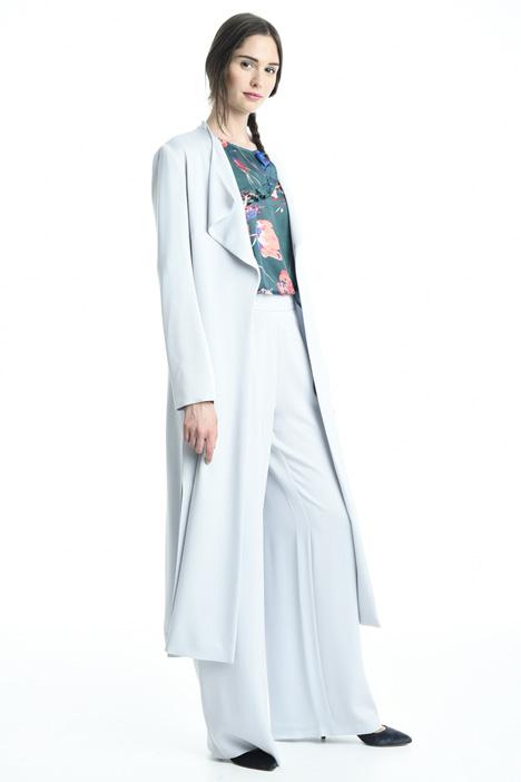 Spolverino in crepe enver satin Fashion Market