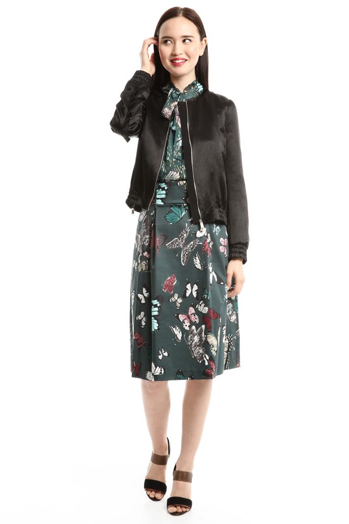 Giacca bomber in raso Fashion Market