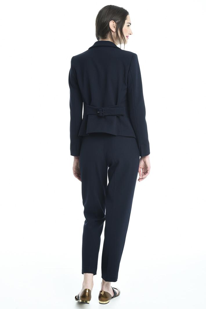 Blazer in tessuto crepe Fashion Market