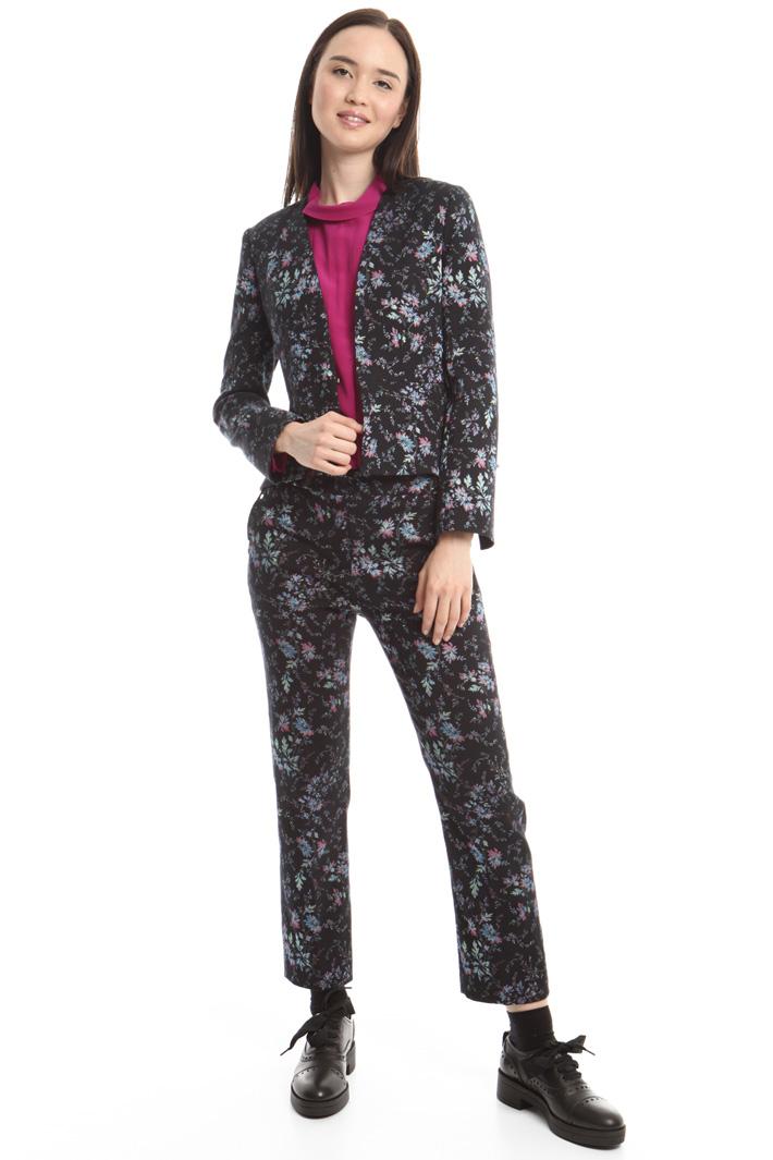 Giacca in jacquard stretch Fashion Market
