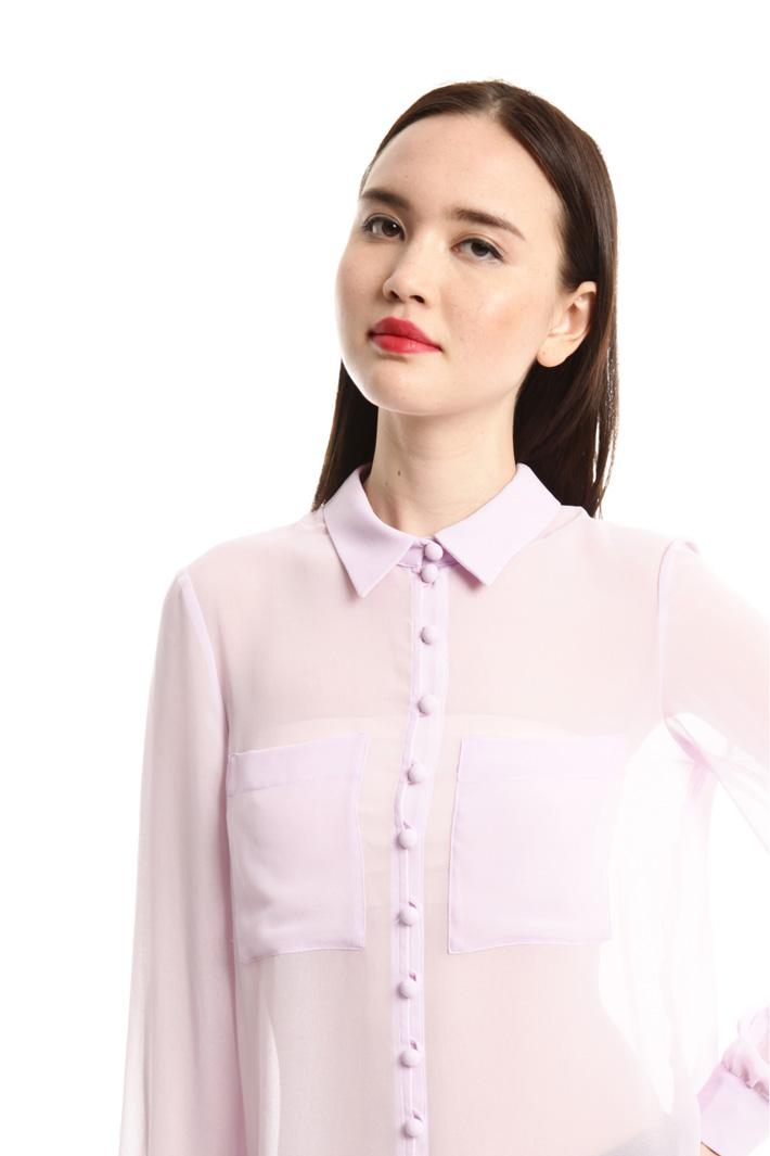 Camicia in georgette Fashion Market