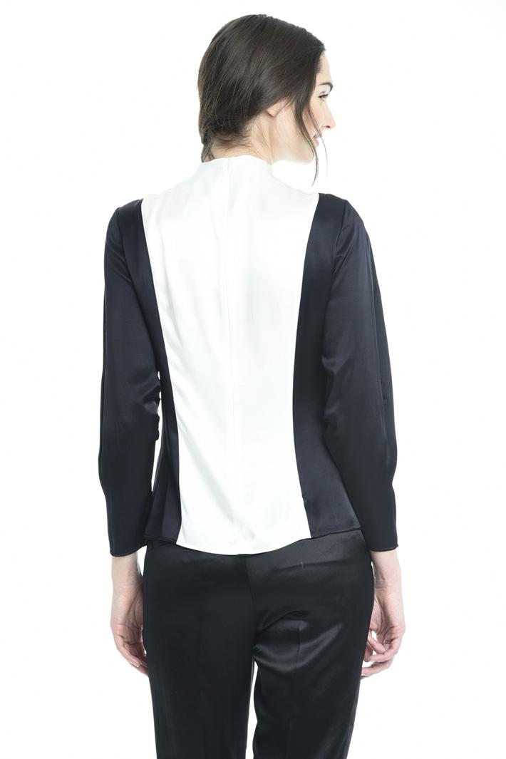 Blusa in raso Fashion Market
