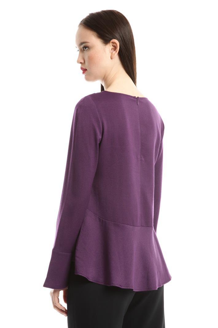 Blusa con fondo a pieghe Fashion Market