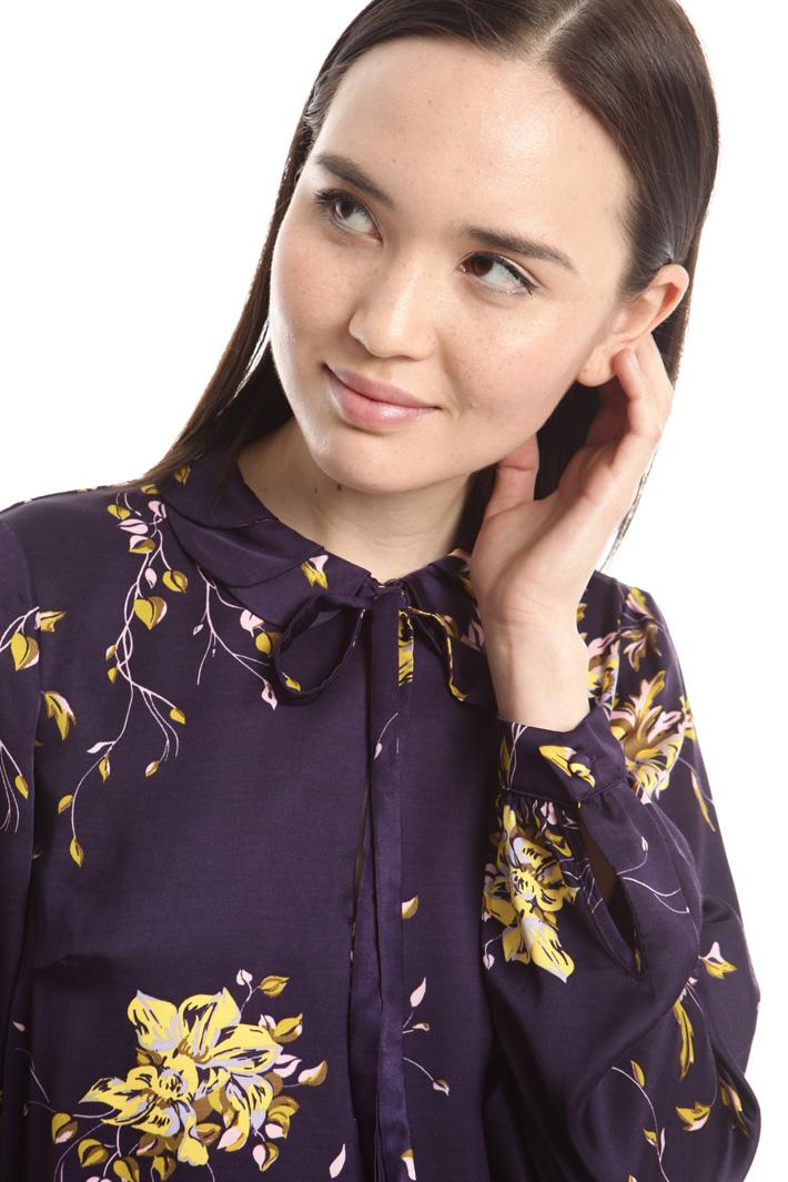Blusa in raso di viscosa Fashion Market