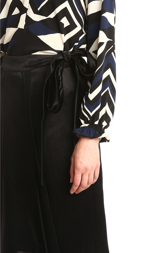 Gonna pantalone in raso fluido Fashion Market