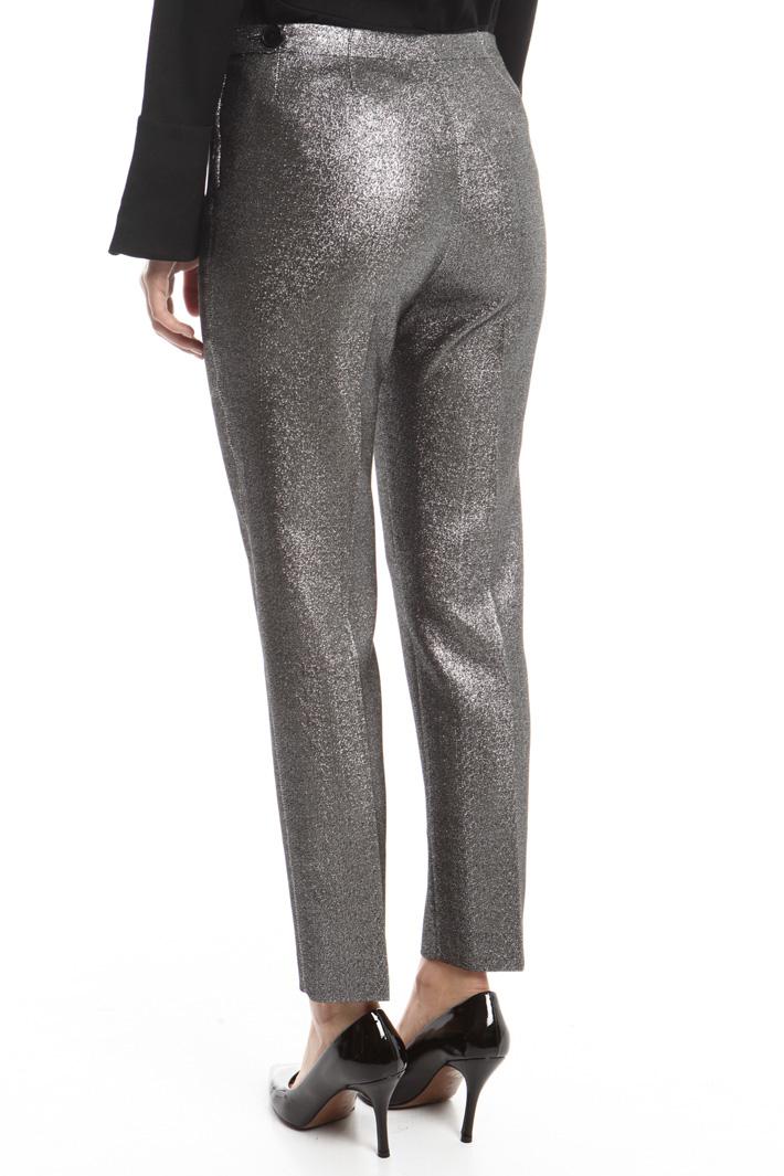 Pantaloni in cady lurex Fashion Market
