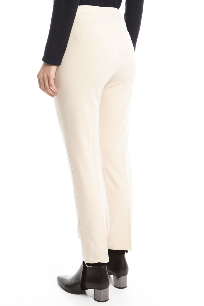 Pantalone in tessuto stretch Fashion Market