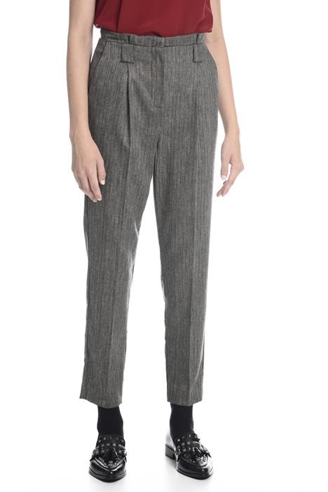 Pantalone in tinto filo lurex Fashion Market