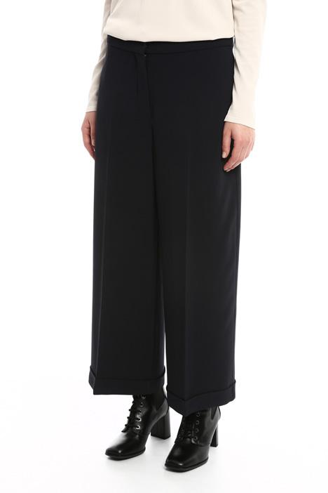 Pantaloni fluidi in cady Fashion Market