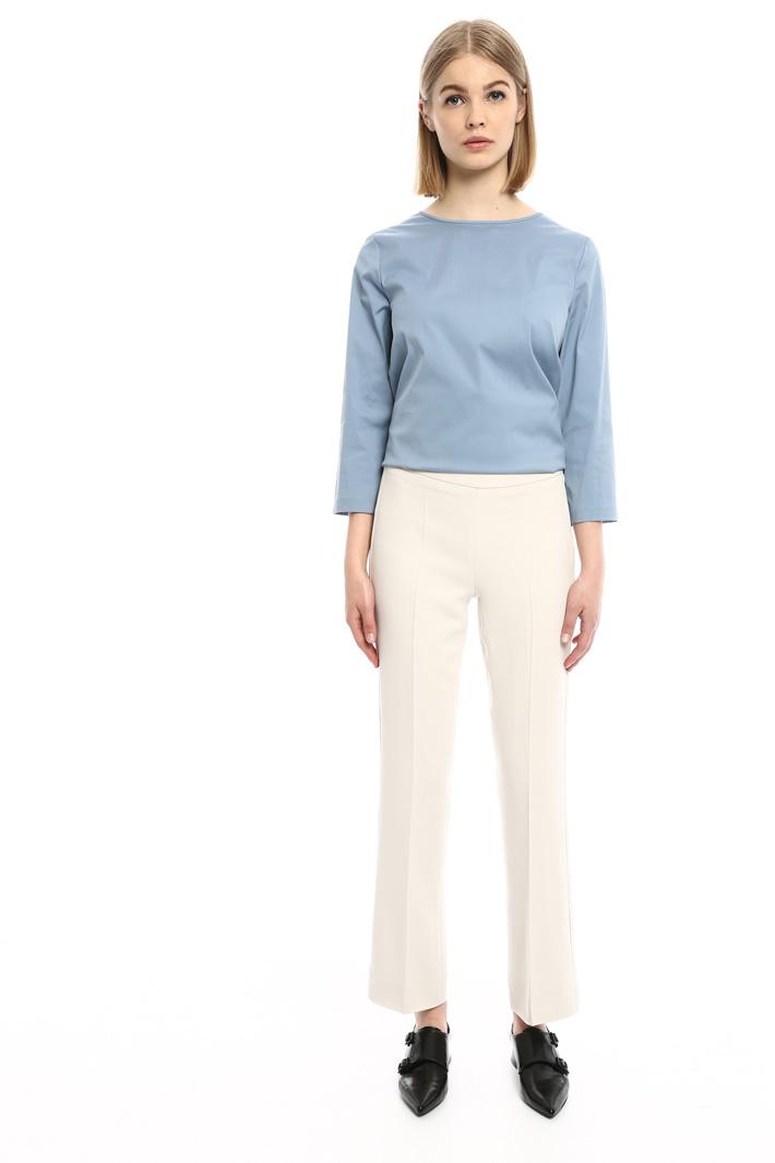 Pantaloni con zip laterale Fashion Market