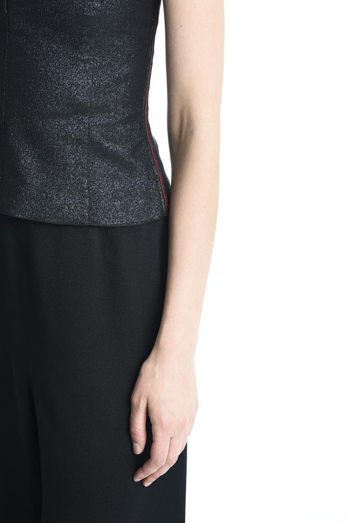 Top bustier lurex Fashion Market
