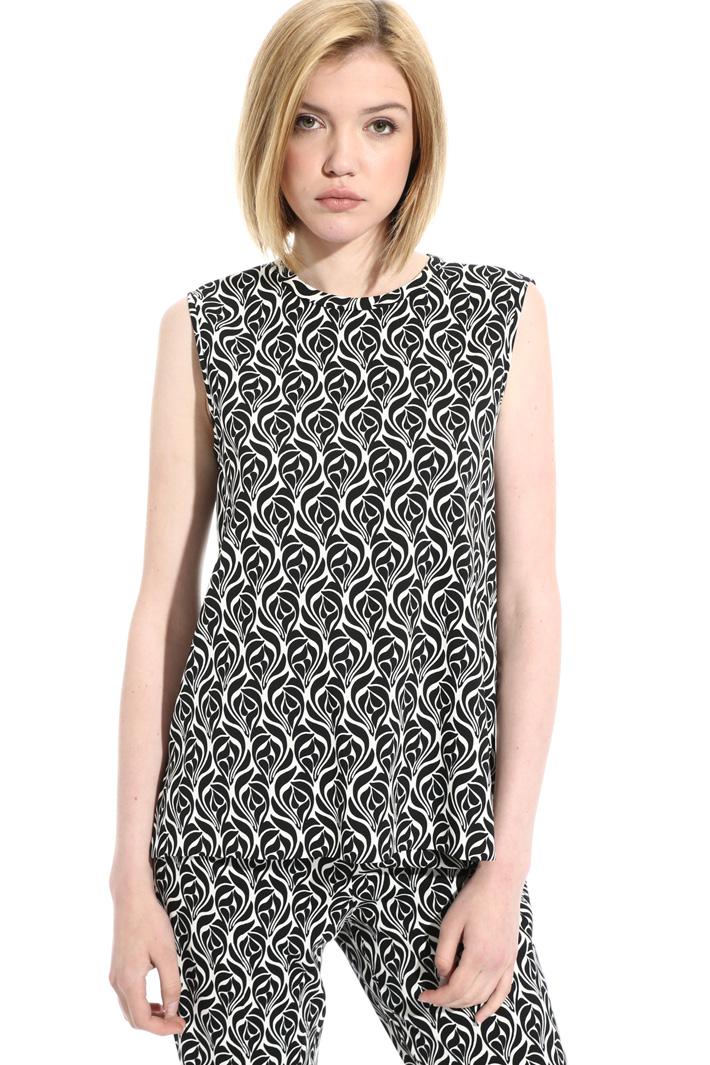 Top in cady di viscosa Fashion Market