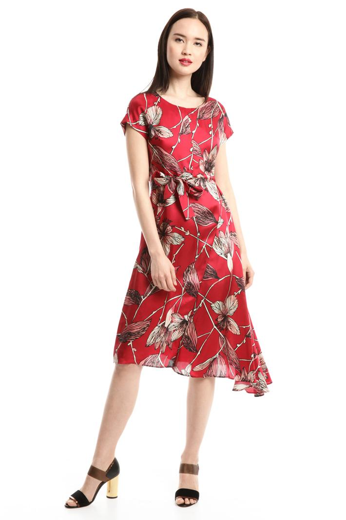 Abito con stampa floreale Fashion Market