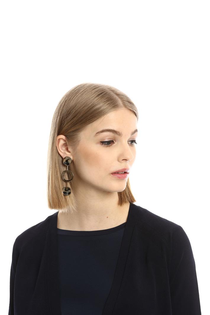 Cardigan con bottone singolo Fashion Market