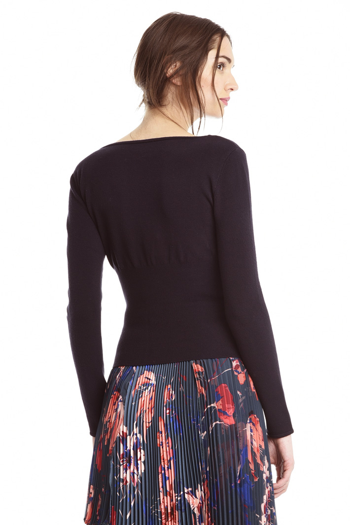 Maglia aderente in viscosa Fashion Market