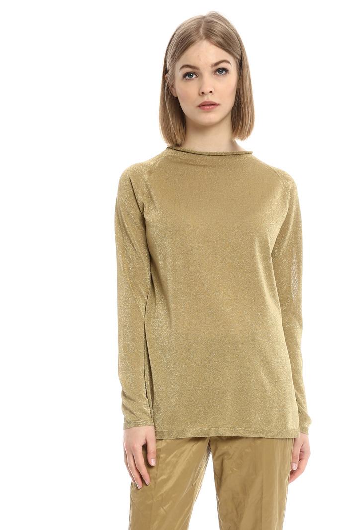 Maglia lunga in viscosa lurex Fashion Market