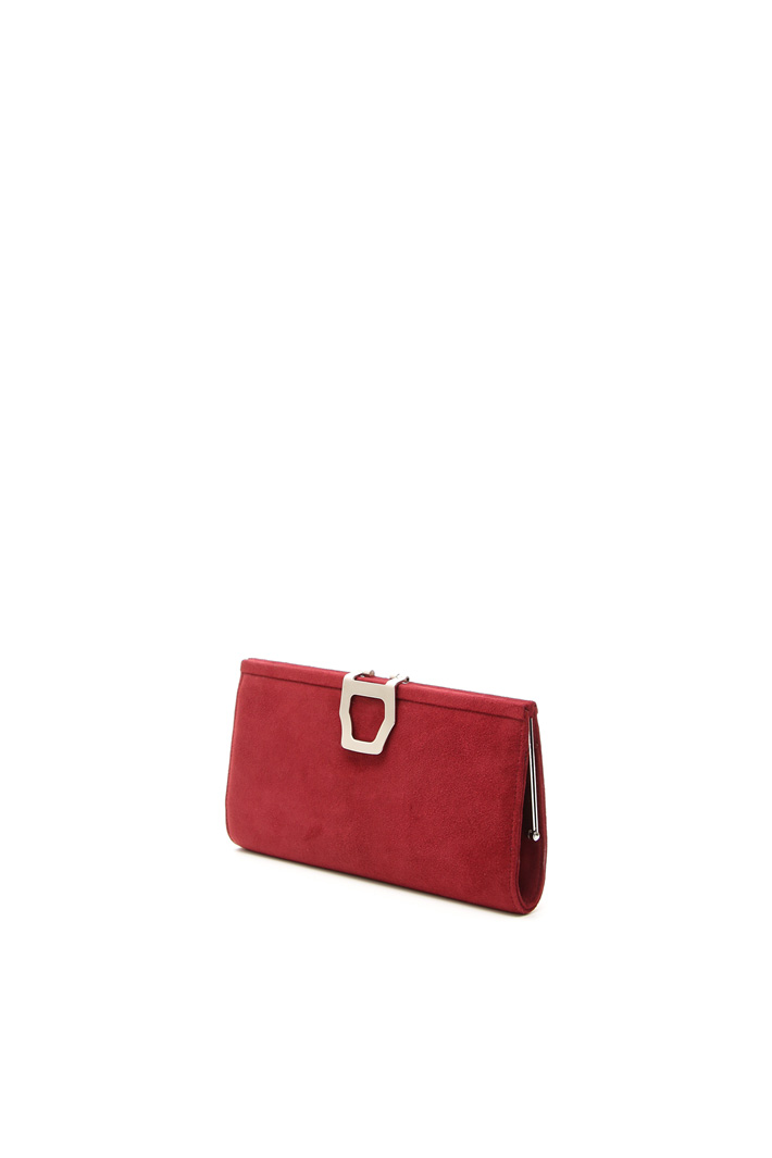 Clutch in pelle scamosciata Fashion Market