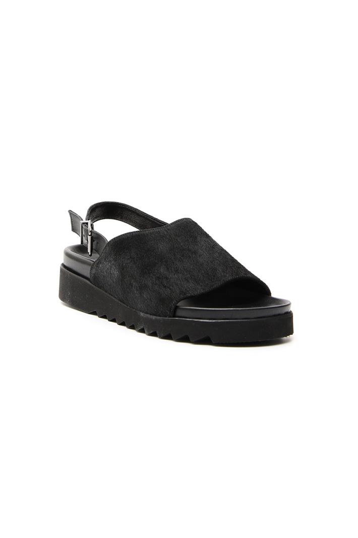 Sandalo in pelle e cavallino Fashion Market