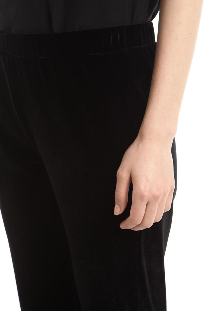 Pantalone effetto velluto Fashion Market
