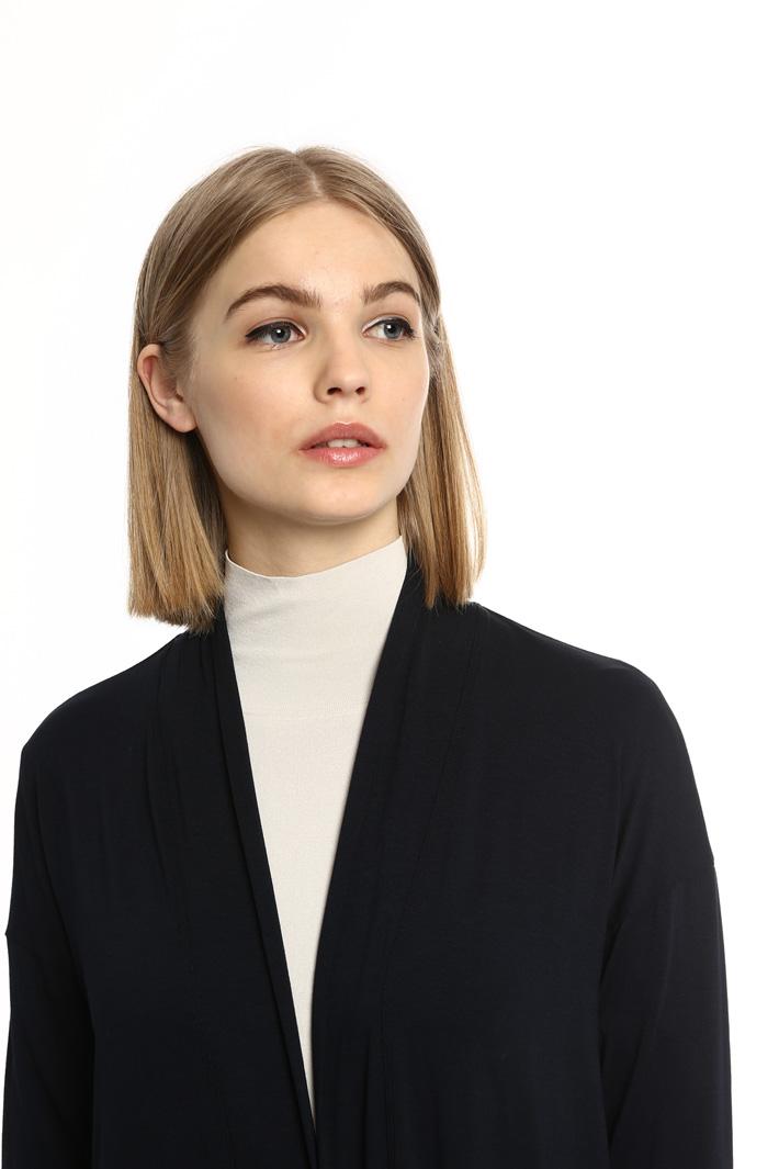 Cardigan lungo in jersey Fashion Market