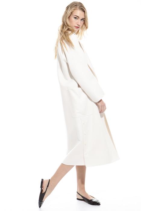 Cappotto over in lana Fashion Market
