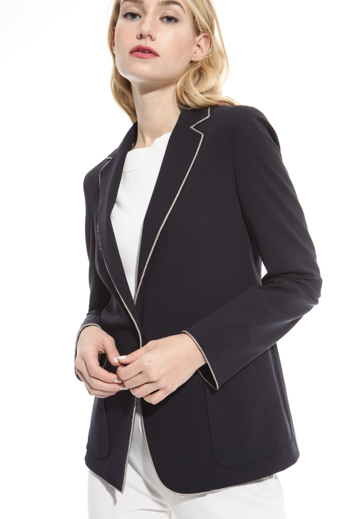 Blazer in pura lana Fashion Market
