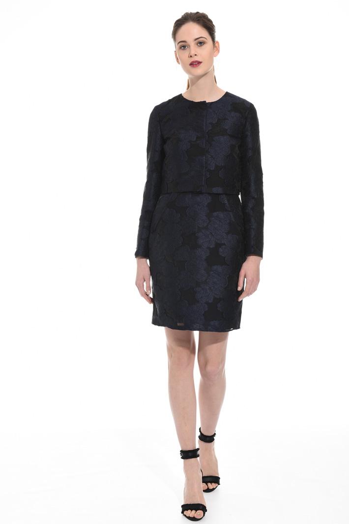 Giacca in organza fil coupé Fashion Market