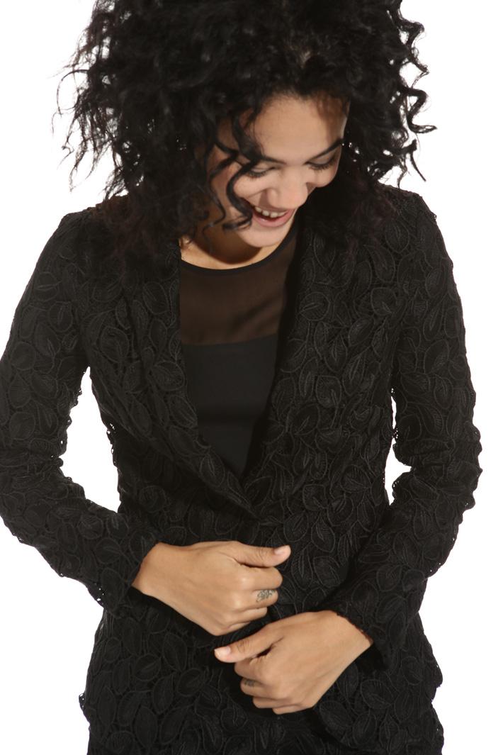 Blazer in tessuto macramé Fashion Market