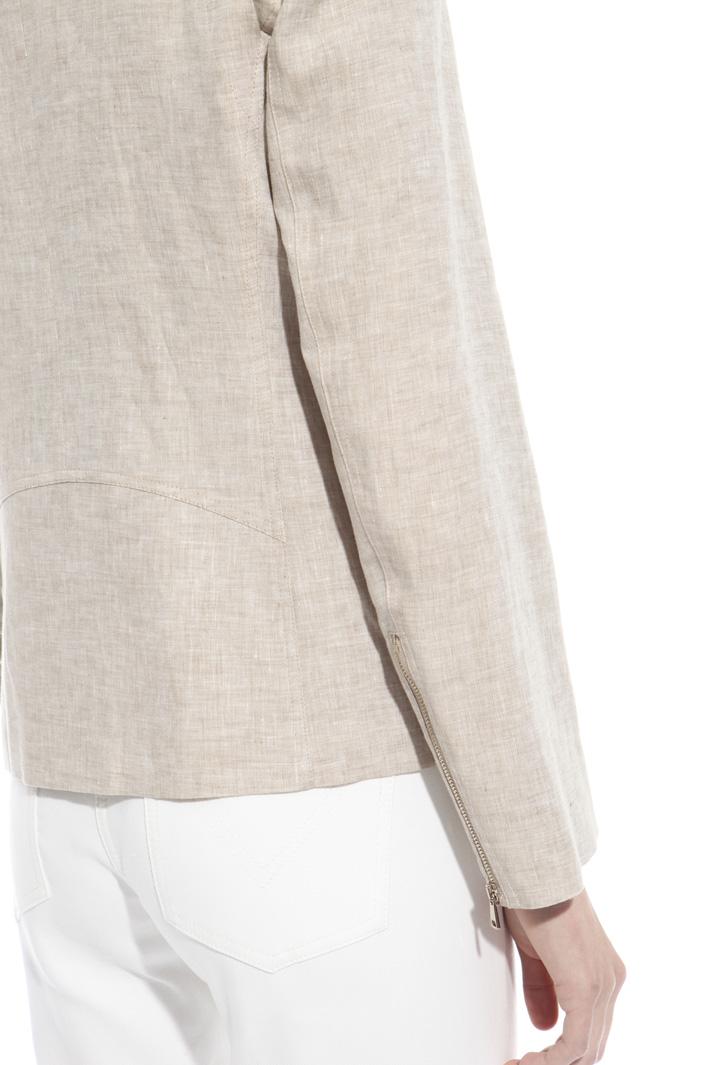 Chiodo in tela di lino Fashion Market