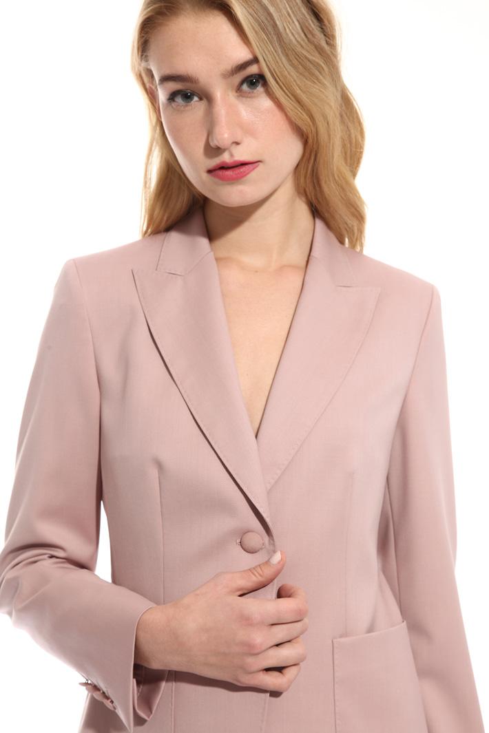 Blazer in piquet di lana Fashion Market