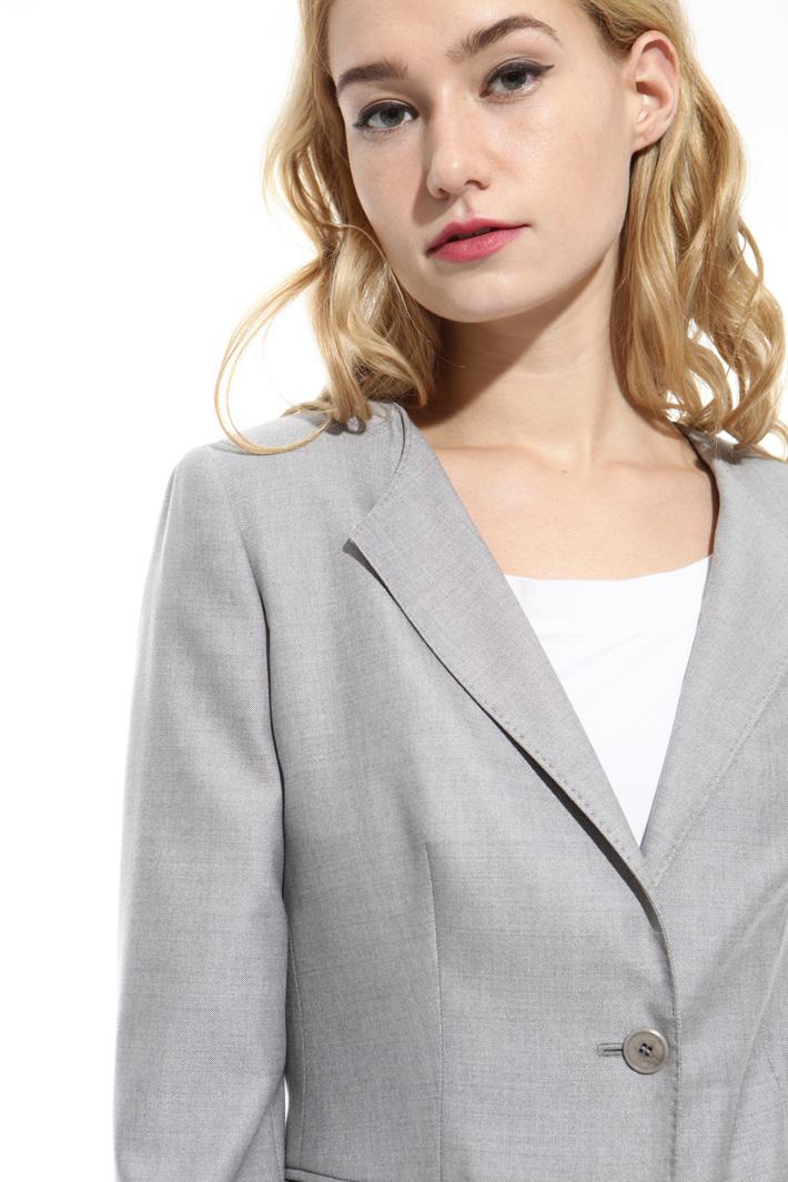 Blazer in lana misto seta Fashion Market