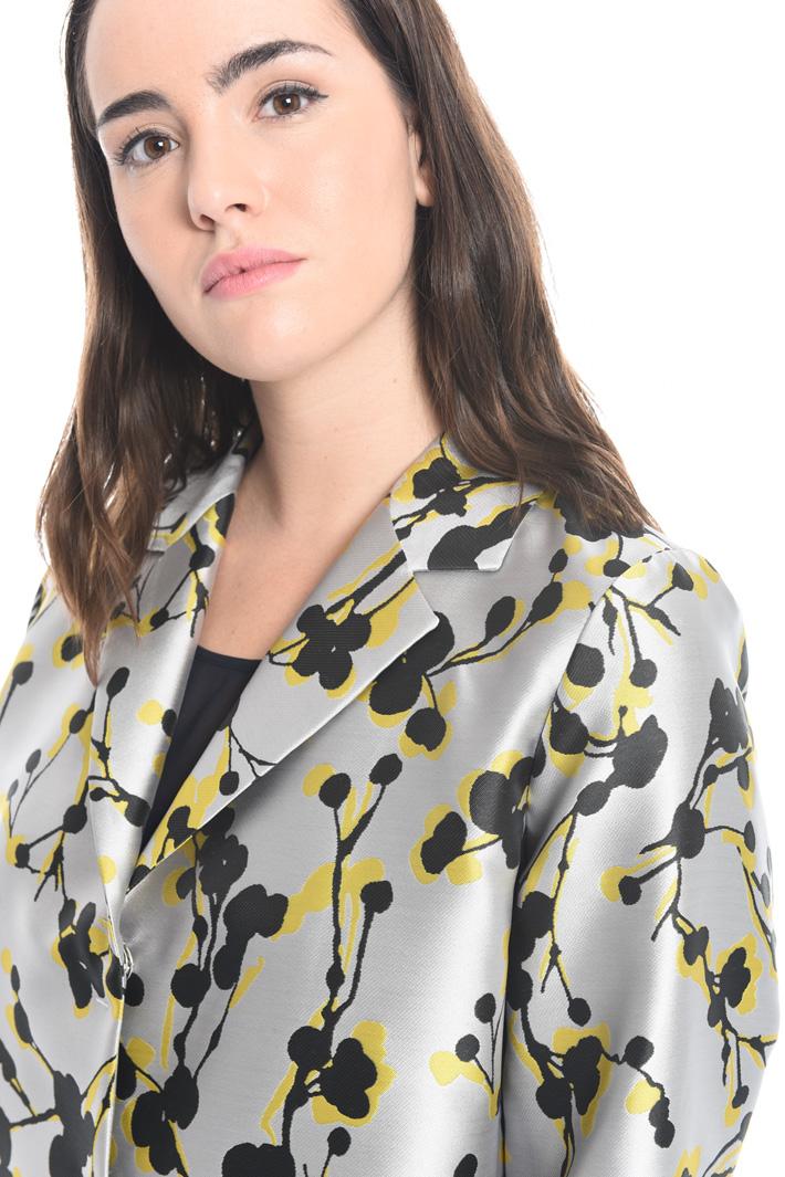Giacca con disegno jacquard Fashion Market