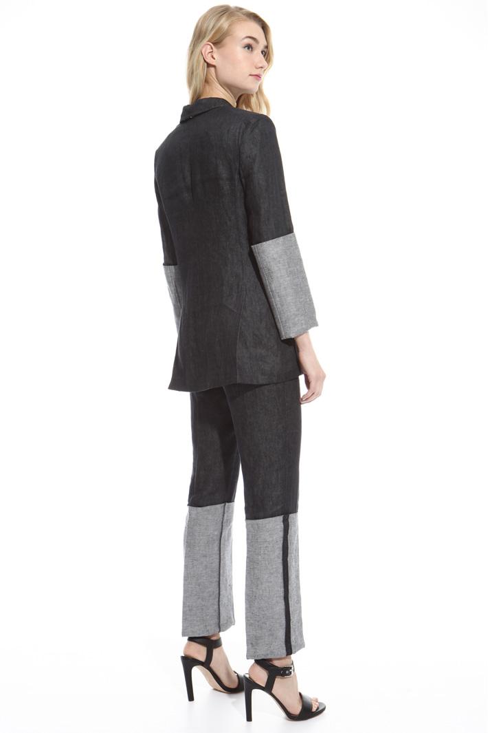 Giacca in lino delavé Fashion Market