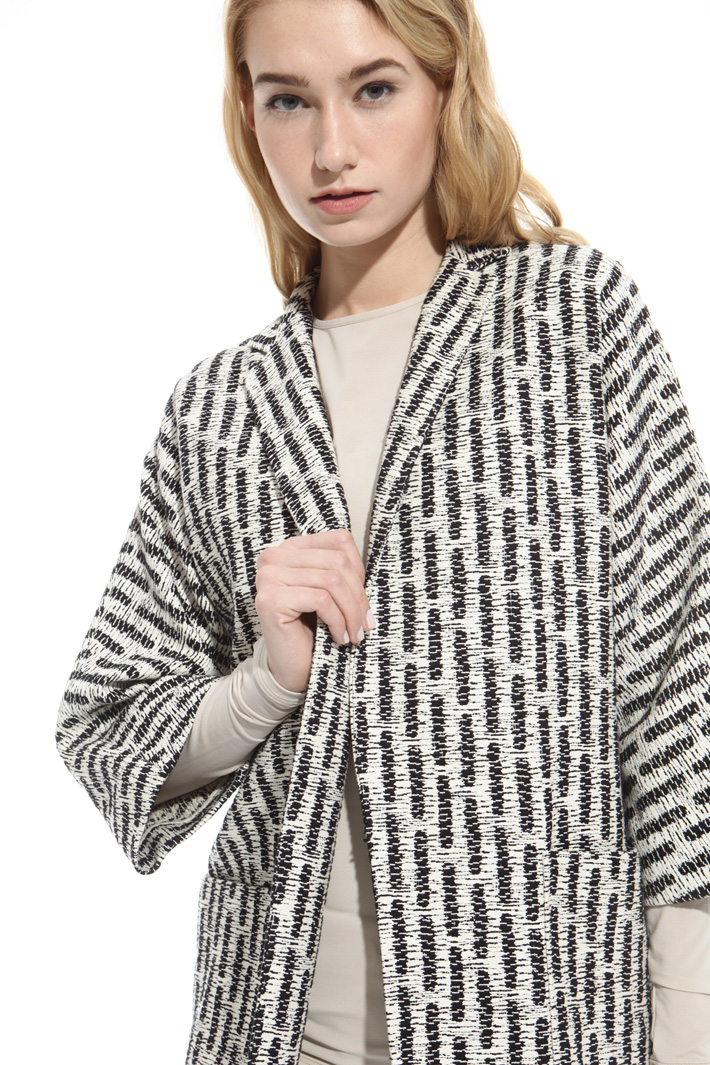 Giacca in tessuto jacquard Fashion Market