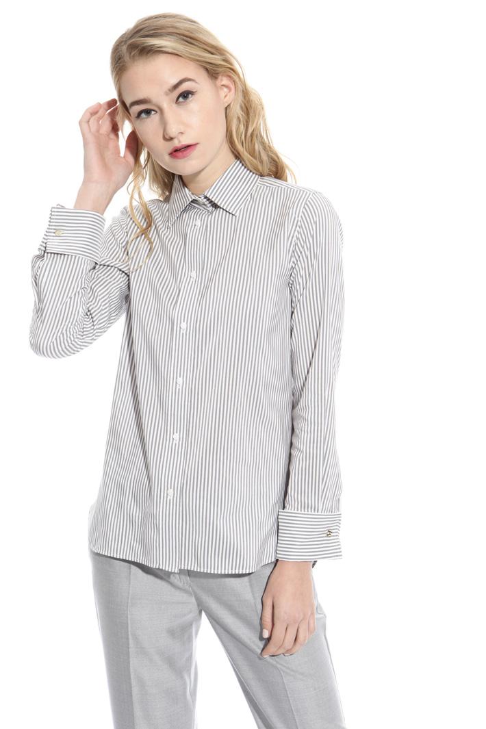 Camicia in cotone e seta Fashion Market