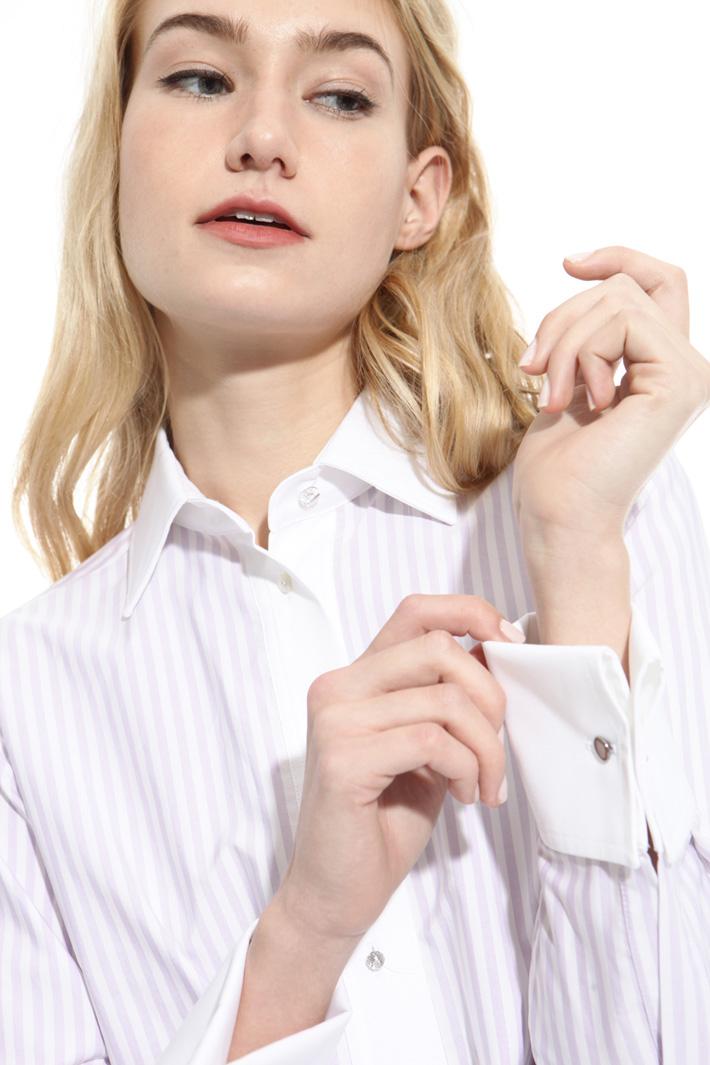 Camicia con bottoni gioiello Fashion Market